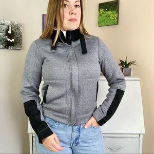 Lole Athletic Grey Women's Fleece Lined Jacket